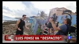 Detrás de escena- Luis Fonsi en entrevista para Corazón RTVE (Despacito)