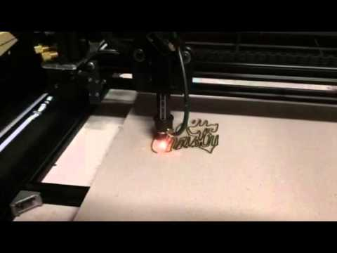 OpenBuilds.com V Slot FreeBurn DIY CO2 Lasercutter
