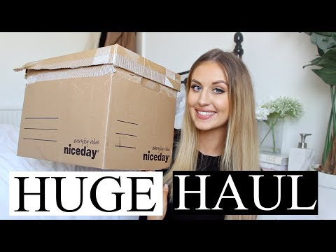 HUGE HAUL - DESIGNER BAG, CLOTHES, MAKEUP & BEAUTY!