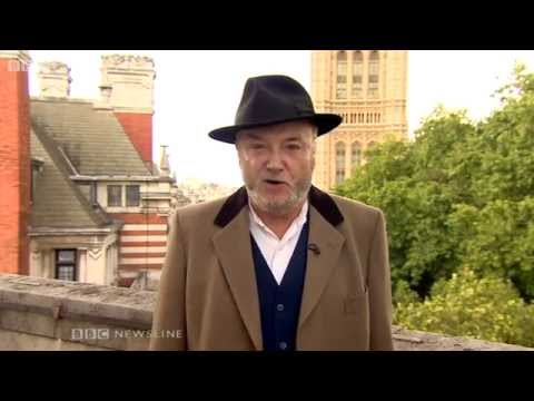 George Galloway banned from speaking in Northern Ireland? - BBC News - 13th August 2014