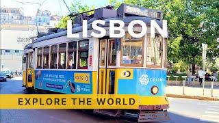 🇵🇹 LISBON Tram 28 Ride, Portugal   4K HDR 60fps