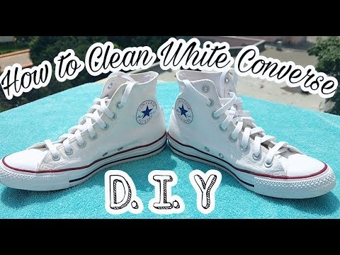 How to Clean Your White Converse   D.I.Y Tutorial   2 Easy Methods