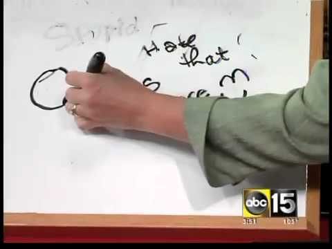 How to get that permanent marker off your white board