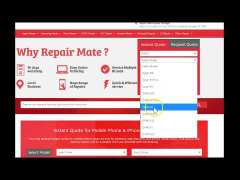 How to get instant quote for mobile phone repairs in Australia ?