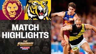 Record crowd for Gabba's finals return | Brisbane v Richmond Highlights | QF2, 2019 | AFL