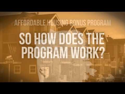 San Francisco's Affordable Housing Bonus Program: An Overview