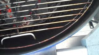 Using the Weber Performer Grill with Touch & Go Starter