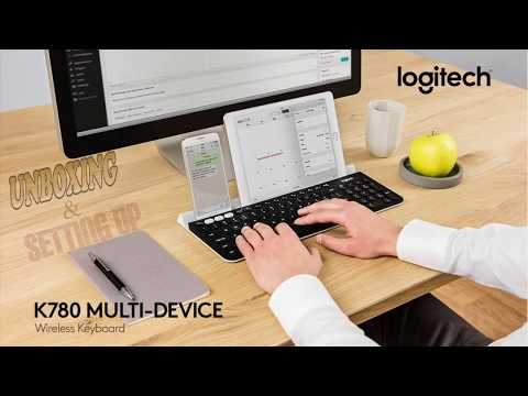 Logitech K780 Multi-Device One Keyboard for Any Device Unboxing