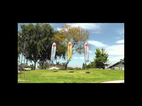 16' Advertising Feather Flag With Ground Spike