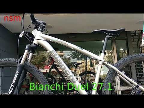 Bianchi Duel 27.1 MTB in Track and Trail | Price : Rs.40600