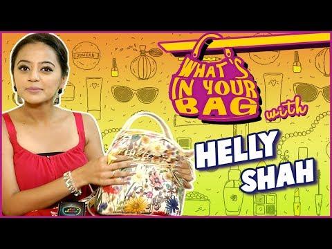 HELLY SHAH aka Devanshi Handbag SECRET REVEALED | What's In Your Bag