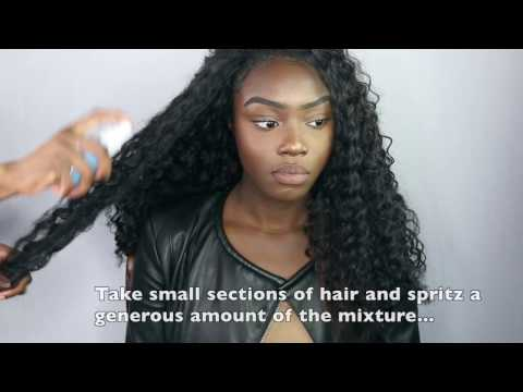 How to maintain your crochet braids- no tangling or matting!