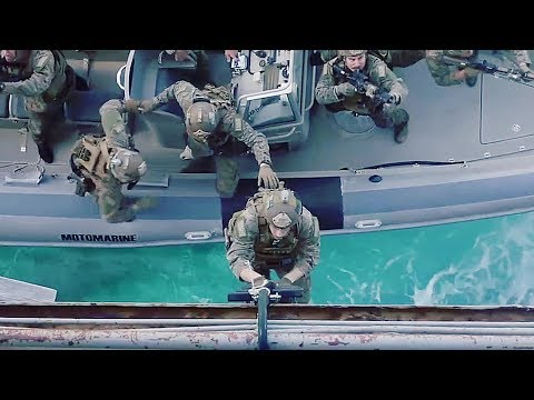 U.S. Marines - Tactical RHIB Boat Insertion Training