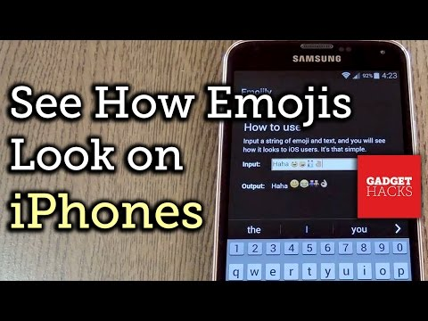 See What Your Android Emojis Look Like on iPhones [How-To]