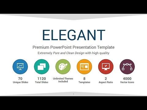 Elegant PowerPoint Presentation Template