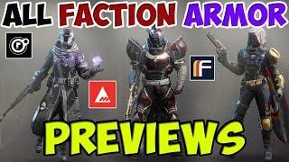 Destiny  Dead Orbit Endling Armour - Full Warlock Set  | Daikhlo