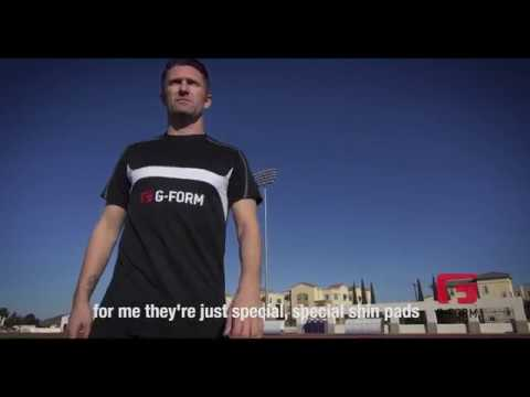 Why Robbie Keane Wears G-Form Shin Pads