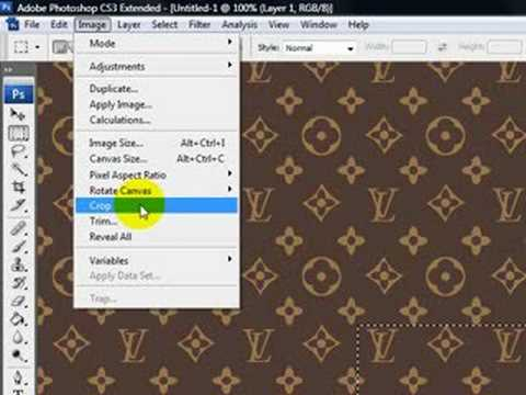 How To Create A Louis Vuitton Pattern