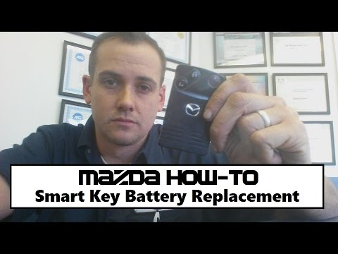 Mazda Smart Key Battery Replacement