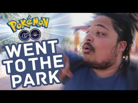 pokémon went to the park! (Pokémon Go Vlog)