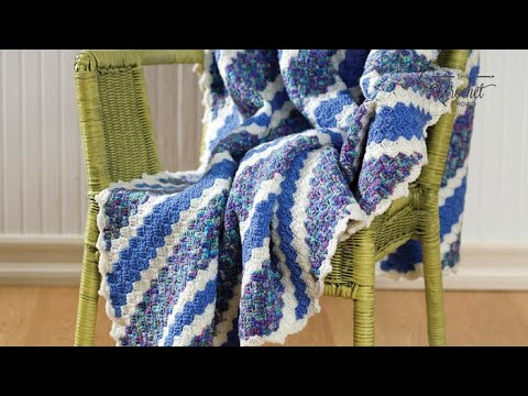 How to Crochet an Afghan: Corner to Corner Afghan