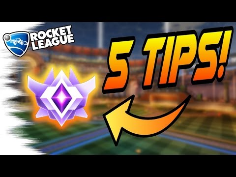 5 EASY Rocket League TIPS/TRICKS TO GET BETTER! - Camera Settings, Aerials, Cars, Air Dribbles
