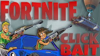 drawing & fixing FORTNITE clickbait | CLICKBAIT COP