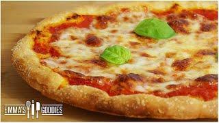 Authentic Italian Pizza Recipe ( Pizza Margherita & Pizza Bianca )
