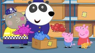 Peppa Pig Full Episodes - Police Station - Cartoons for Children