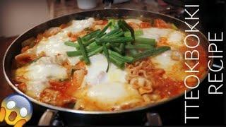 Download 떡볶이 TRYING KOREAN SPICY RICE CAKE 떡볶이 TTEOKBOKKI RECIPE & MUKBANG   COOKING SHOW Video