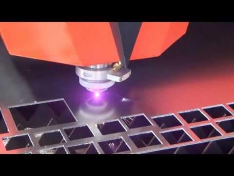 1000W fiber laser metal cutter cut 2mm Aluminum sheet  Bodor laser