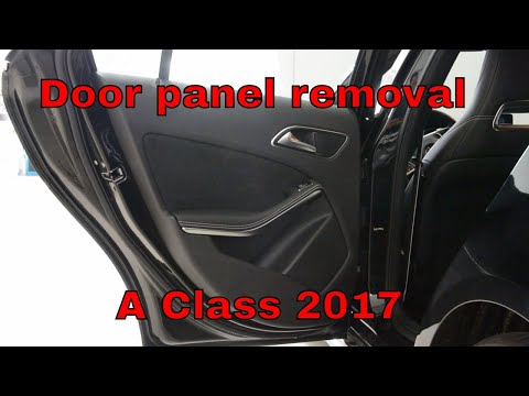 Mercedes A Class Door panel removal