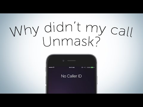 Quick Tip - Why Didn't My Call Unmask ?
