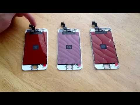 How to tell the difference between iPhone 5, 5S, and 5C replacement screens