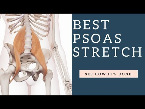 How To Stretch Your Psoas Hip Flexor Muscle & Release It (Mistakes Shown)!