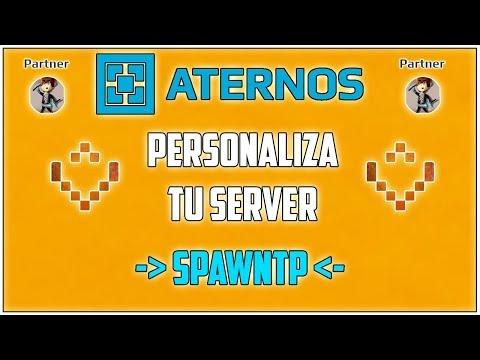 ATERNOS !! Configura y Crea SPAWNS con SPAWNTP - Personaliza Tu Server [2017][Full] | Español