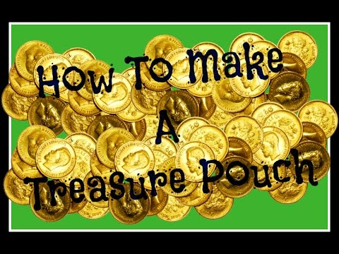 How To Make A Paper Treasure Pouch