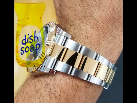 How to Clean a Rolex Two Tone Watch 2016