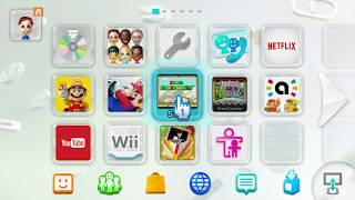 My hacked Nintendo Wii