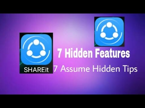 SHAREit 7 Hidden Features || You Want to Know The Hidden Features || CB TECHNIC WORLD