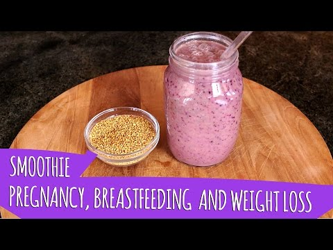 PREGNANCY, BREASTFEEDING, AND WEIGHT LOSS SMOOTHIE