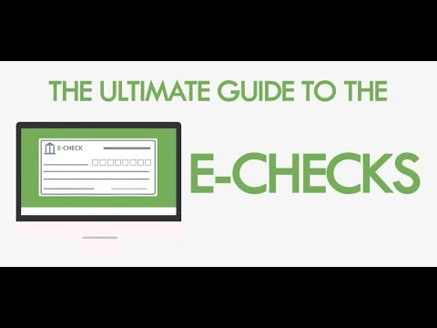 eCheck - The Guide to Better ACH Payments