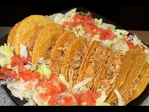 Chicken Tacos (Saturday Meal) How - To - Make