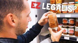 A LEGGUSZTUSTALANABB ÉTELEK A BOLTBAN! ft. Barni