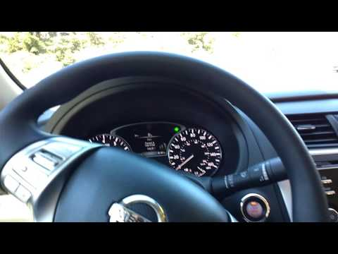 Nissan Altima uphill CVT transmission sport-mode