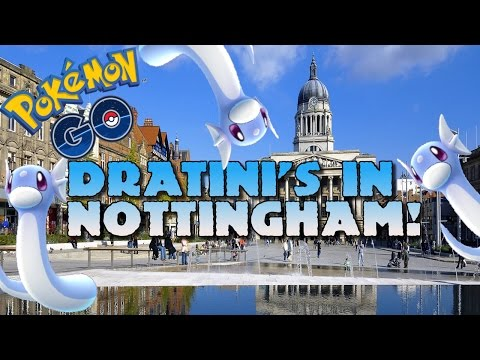 DRATINI'S IN NOTTINGHAM! [POKEMON GO, UK]
