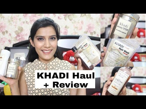 KHADI Haul & Review | Shampoo, Facewash,ETC | Affordable  & Natural Products| Super Style Tips