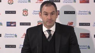 Liverpool 2-3 Swansea - Paul Clement Full Post Match Press Conference