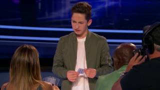 15 Y.O Magician Performs Unbelievable Tricks and Shocks The Audience | Judge Cut 4 | America