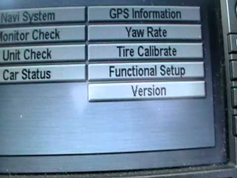 How to get the Honda  Navigation CODE